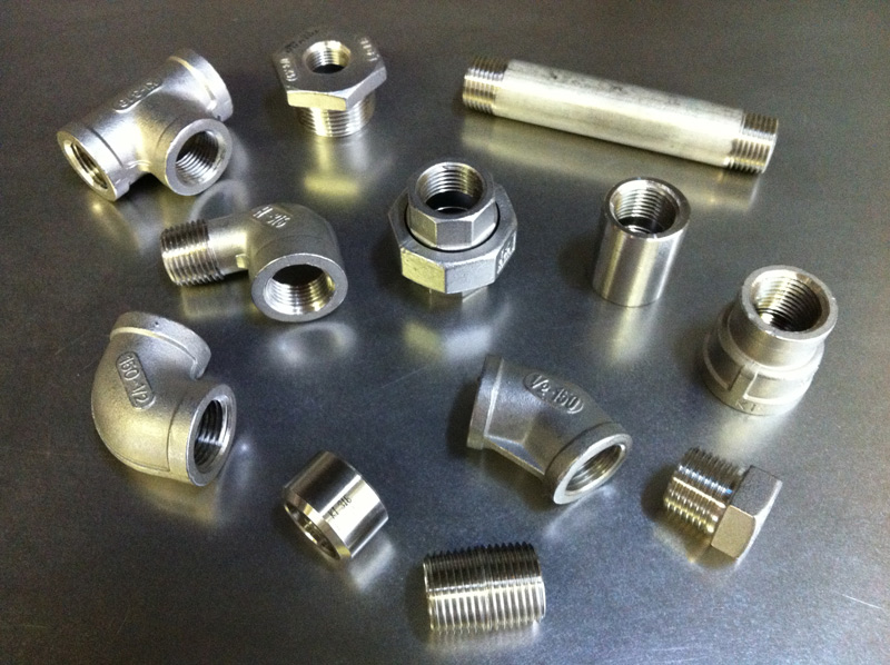 Stainless steel fittings - elbows etc.